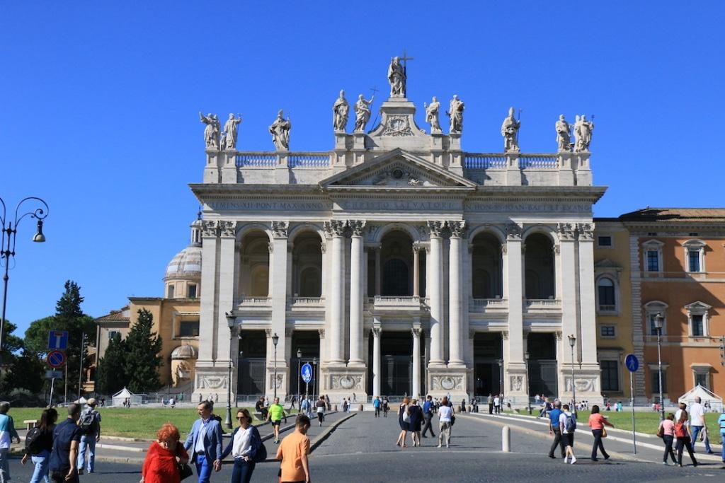 La basilique Saint Jean de Latran à Rome