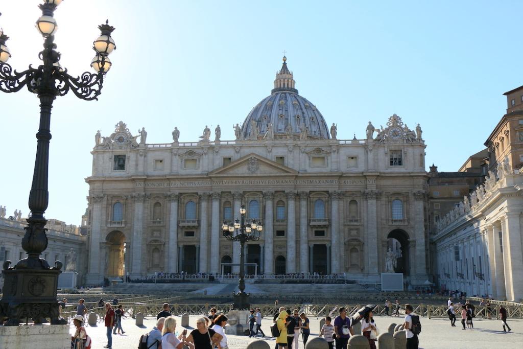 Basilique Saint Pierre au Vatican.