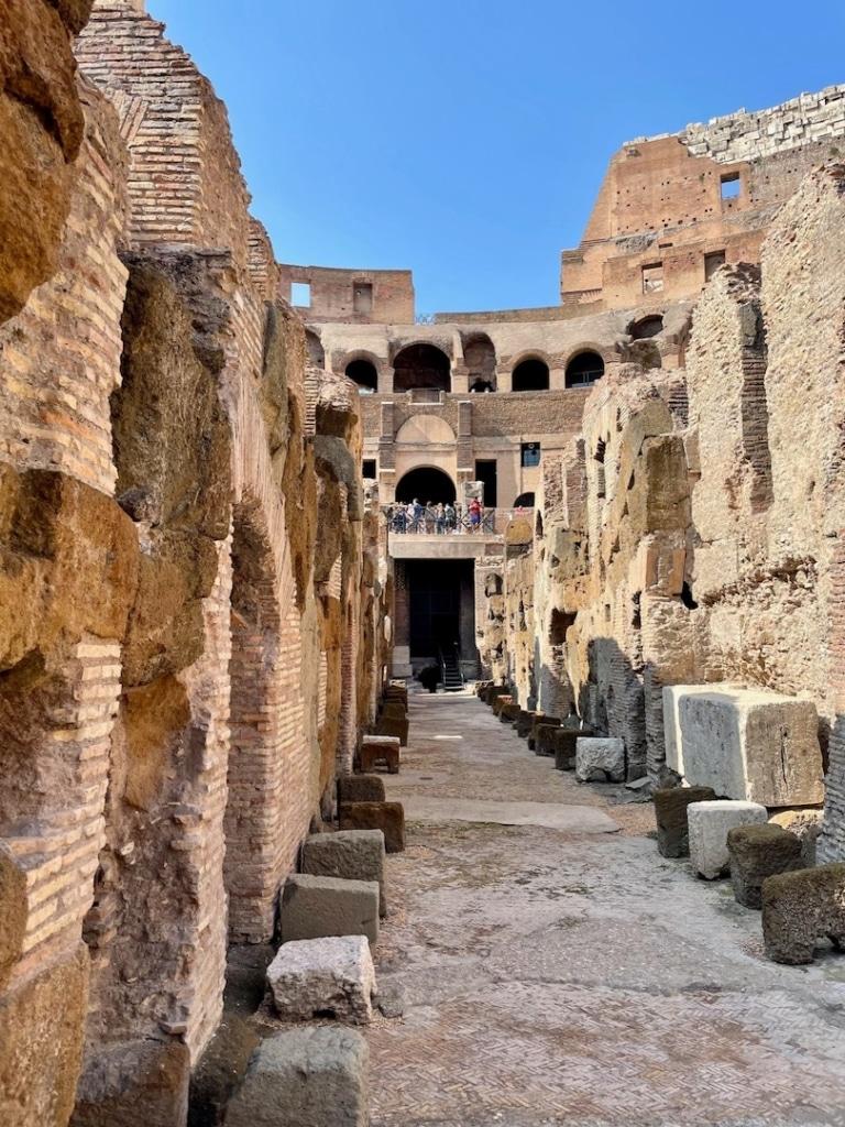 Souterrains du Colisée de Rome