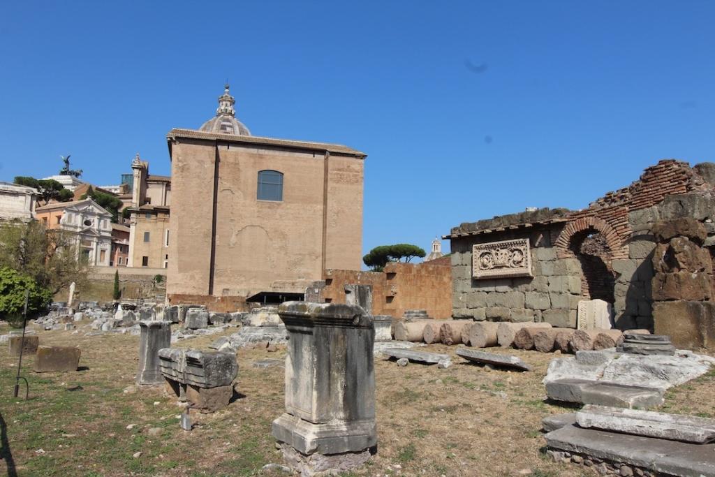 Curie Julia au Forum Romain à Rome