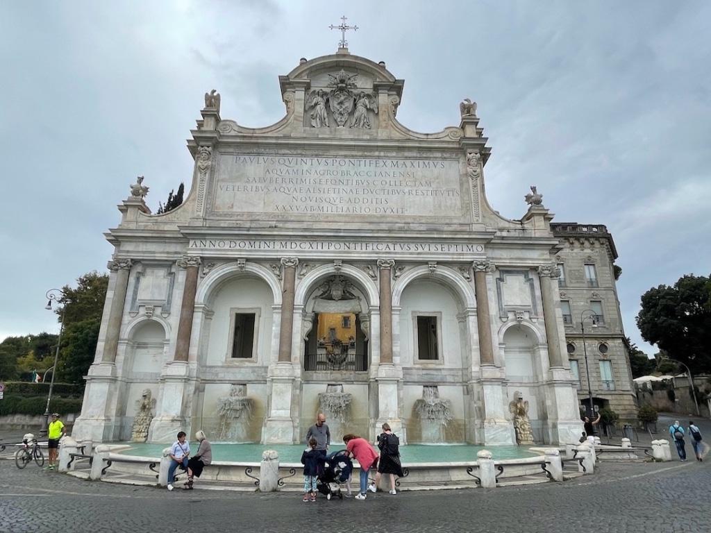 Fontana dell'Acqua Paola à Rome