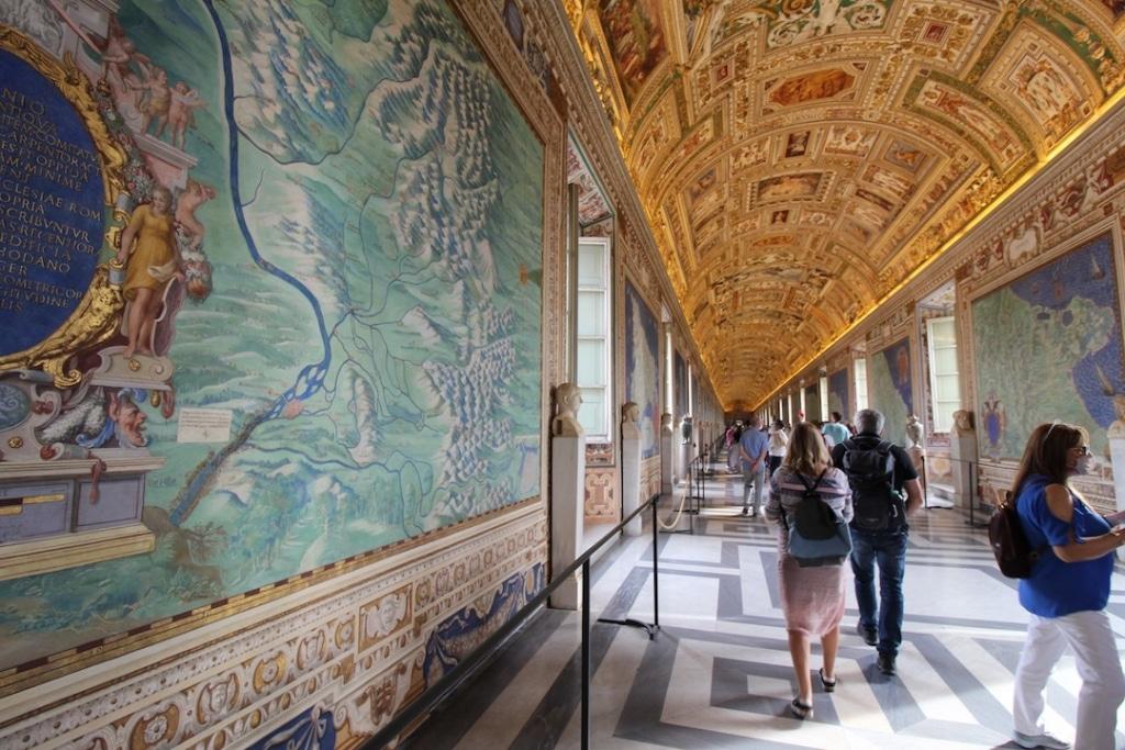 Galerie des cartes géographiques au Vatican