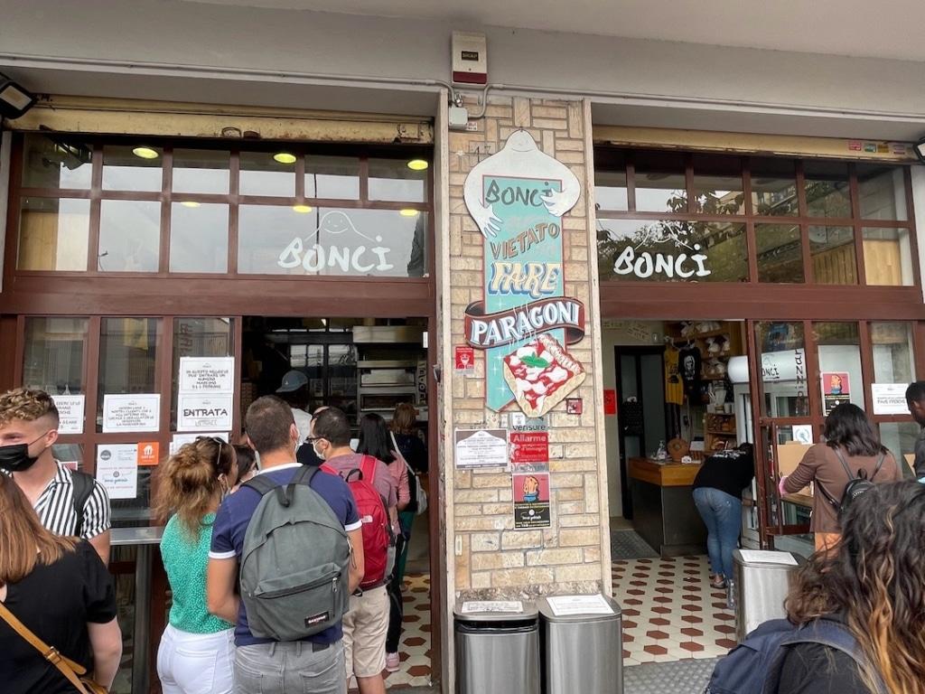 Pizzarium Bonci à Rome
